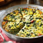 Easy Vegetable Crustless Quiche Recipe | Healthy Fitness Meals