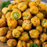 Fried Okra Recipe - Dinner at the Zoo