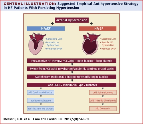 The Transition From Hypertension to Heart Failure: Contemporary Update    JACC: Heart Failure