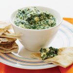 Crockpot Spinach Dip {Healthy Spinach Dip} - The Cookie Rookie (VIDEO)