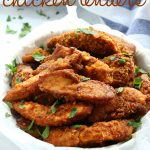 Healthier Oven Fried Chicken Tenders {Low Fat, Baked} - The Busy Baker