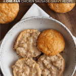 Southern-Style Healthy Sausage Gravy for Biscuits and Gravy