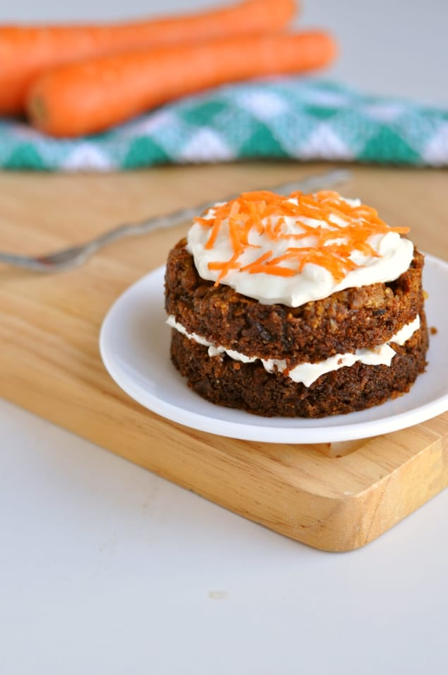 Healthy Carrot Cake - Hungry Healthy Happy