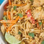 Healthy Chicken Pad Thai - The Clean Eating Couple