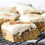 Low Carb Healthy Pumpkin Bars with Cream Cheese Frosting - This easy pumpkin  bars recipe with can…   Canned pumpkin recipes, Healthy pumpkin bars, Easy pumpkin  bars