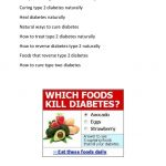 How to Cure Diabetes Naturally with Natural Food