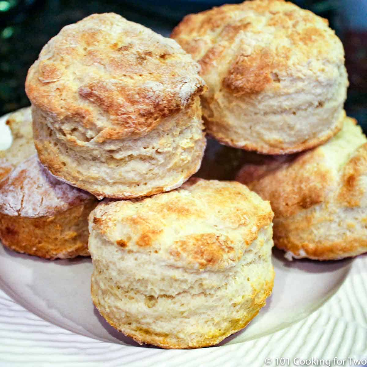 Almost Zero Low-Fat Biscuits | 101 Cooking For Two