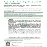 PDF) Relationship of Food Security with Type 2 Diabetes and Its Risk  Factors in Tehranian Adults