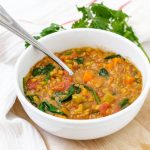 Low Calorie Lentil Soup | Vegan and Gluten-Free | Keeping the Peas