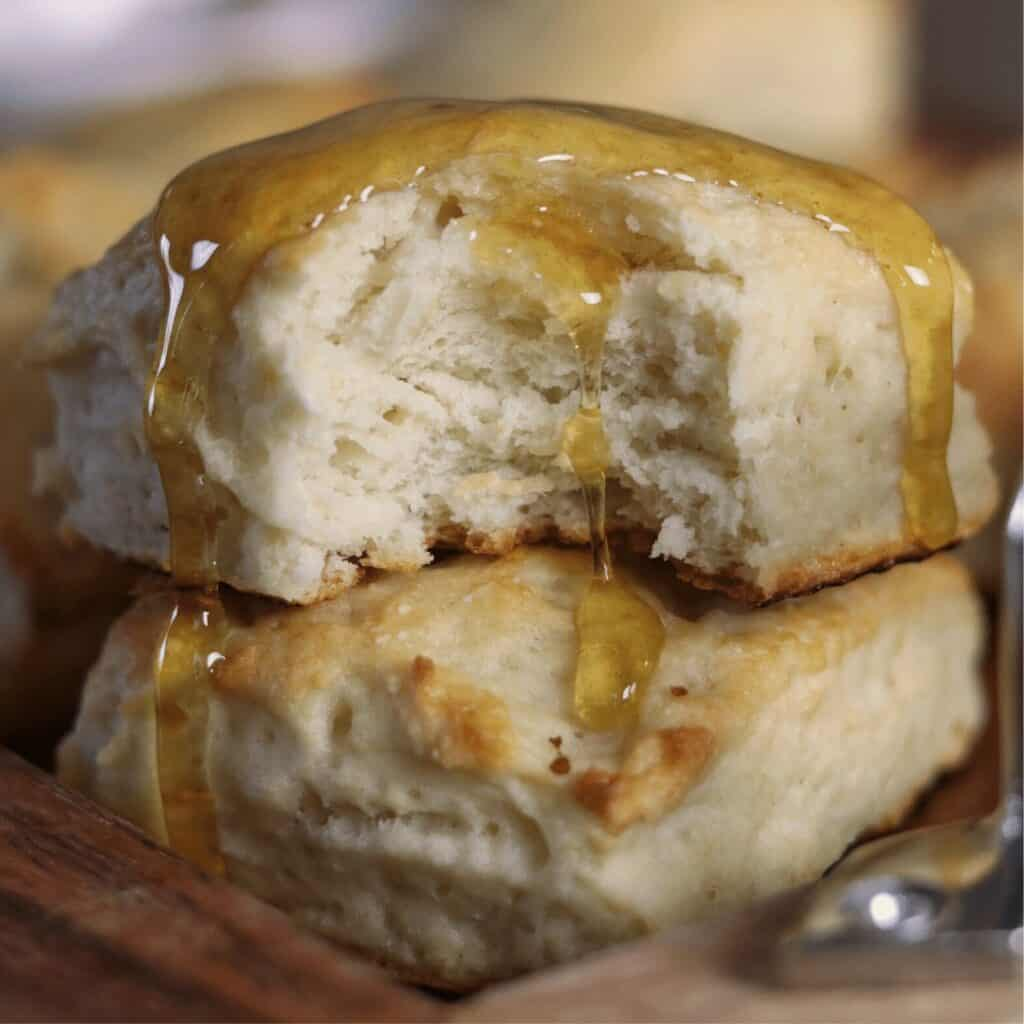 Greek Yogurt Biscuits - Buttery, Fluffy Biscuits with 75 Percent Less Fat