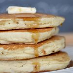 Low-fat Fluffy Buttermilk Pancakes   The Realistic Nutritionist