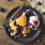 Low-Carb Old Fashioned Blueberry Cobbler Recipe - Simply So Healthy