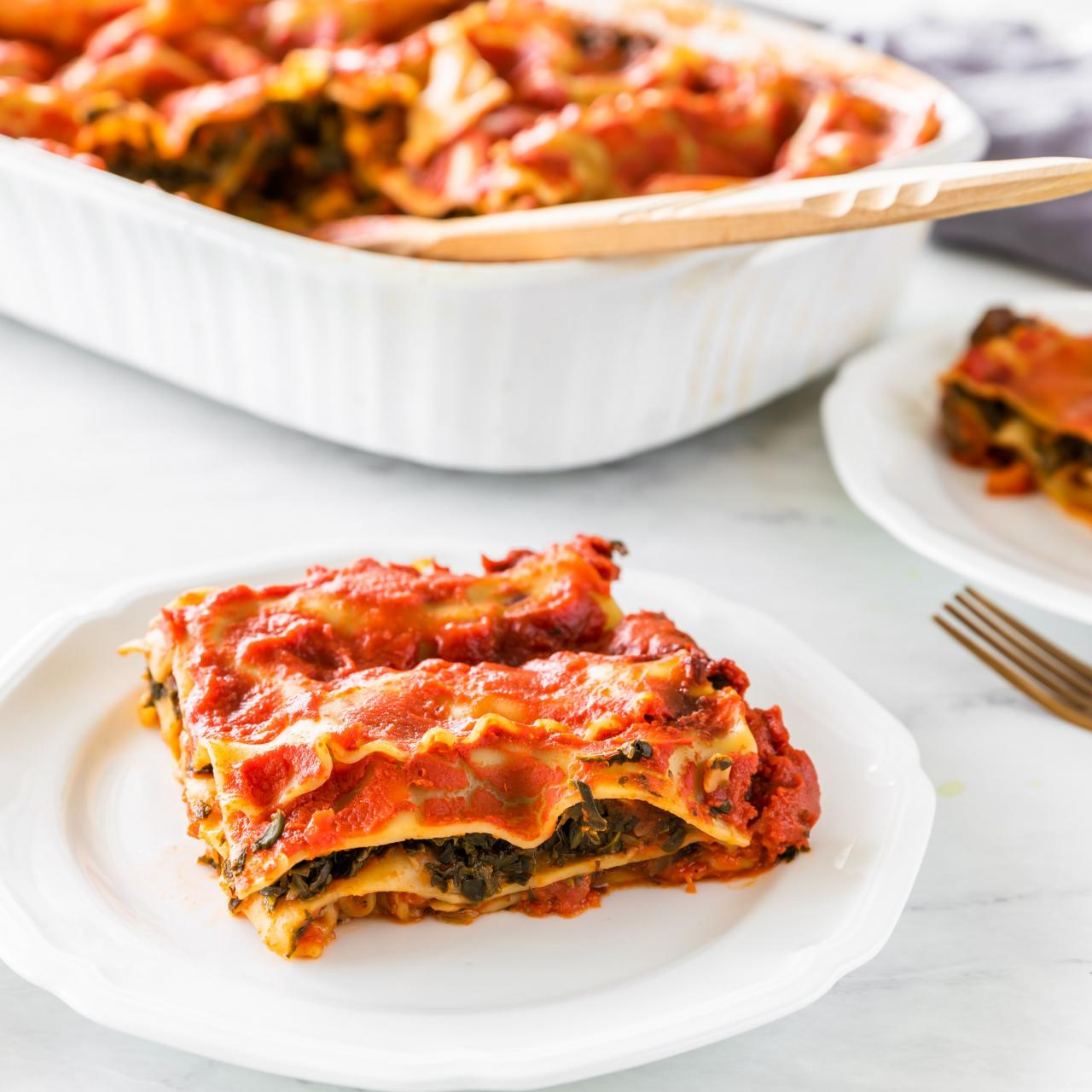 Baked Roasted Vegetable Lasagna Recipe With Low Fat Cheese & Oat Sauce –  Foodji
