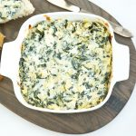 Healthy Spinach Artichoke Dip (ready in 15 minutes) | Live Eat Learn