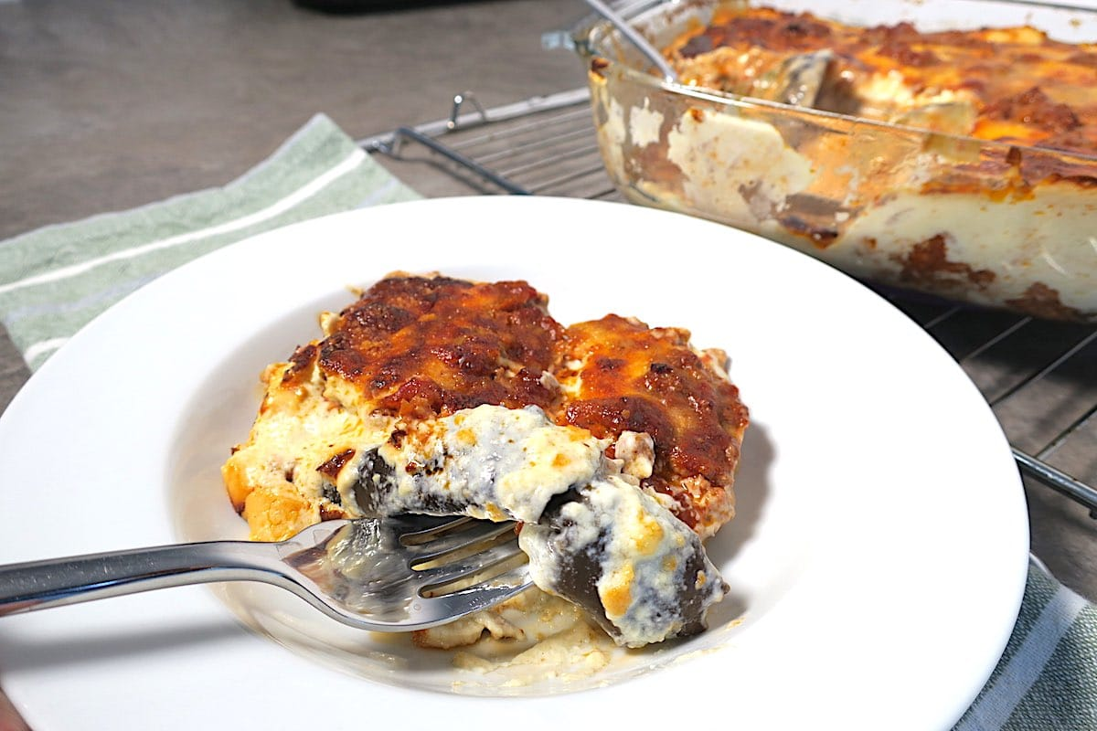 Slimming World Moussaka - A Low-Fat Version of a Greek Classic!