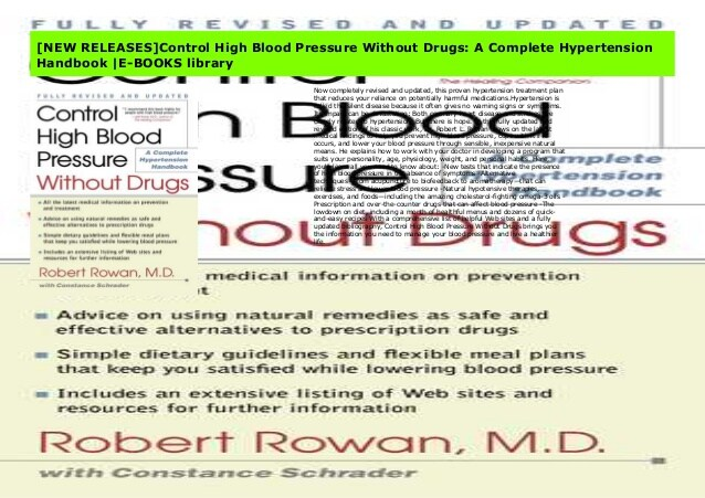 NEW RELEASES]Control High Blood Pressure Without Drugs: A Complete H…
