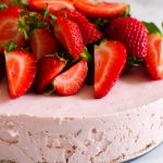 Strawberry Cheesecake Recipe | Baked by an Introvert