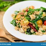 Fried Gurmar Leaf With Egg (Pad Pak Chiang Da), Northern Thai Food, Gurmar  Leaf Is Herbal Plant For Diabetes Treatment, Function Is Control Sugar  Level In Blood Stock Photo, Picture And Royalty