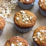 Healthy Banana Oatmeal Muffins   Gimme Delicious