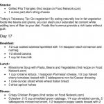 30-Day Meal Plan for People with Diabetes Week 3 - PDF Free Download