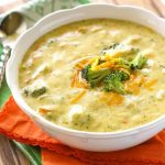 Healthy Broccoli Cheddar Soup - Home Cooked Harvest