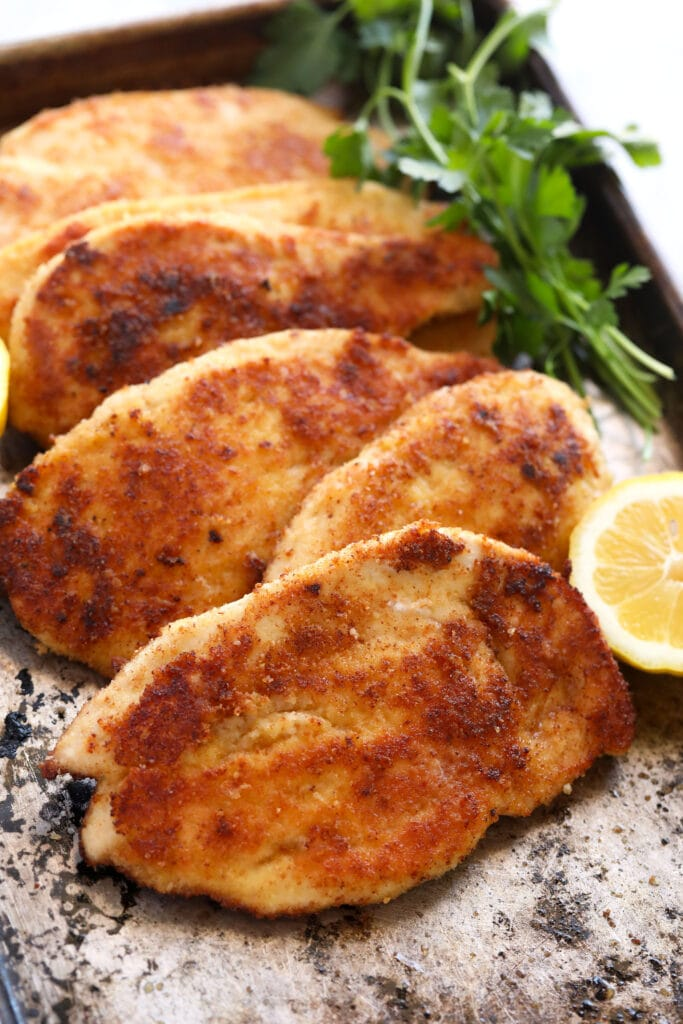 Parmesan Crusted Chicken | 101 Cooking For Two