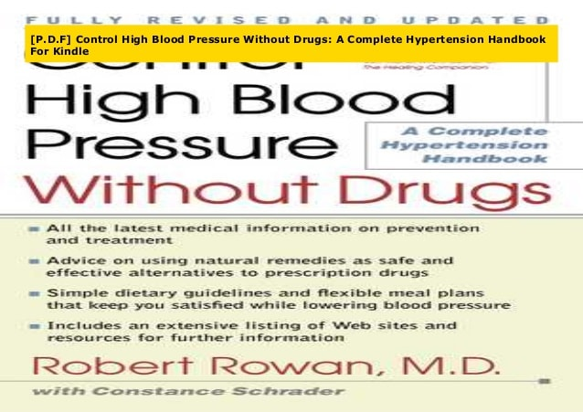 P.D.F] Control High Blood Pressure Without Drugs: A Complete Hyperte…