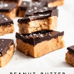 Low Carb Keto Chocolate Protein Bars (Nut Free)