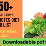 Prediabetes Food List and Sample Meal Plan to Reverse Diabetes - Libifit    Dieting and Fitness for Women