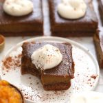 Healthy Pumpkin Pie Bars (better than pie!) - Fit Foodie Finds