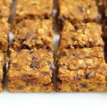 Healthier} Pumpkin Bars with Cream Cheese Frosting - Eat Yourself Skinny