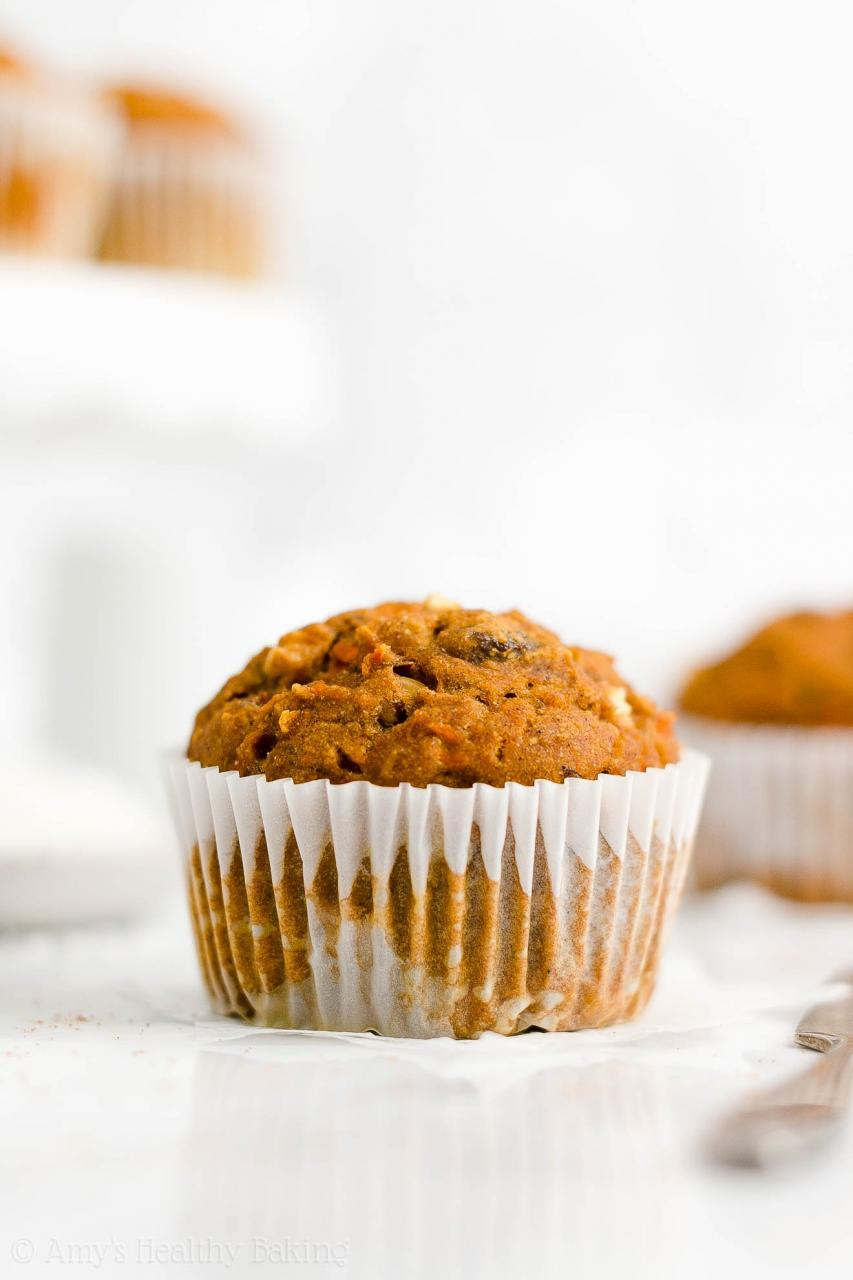 Healthy Morning Glory Muffins - I Heart Naptime