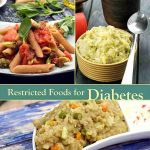 List of Foods to be restricted by Diabetics, Veg Indian   TarlaDalal.com
