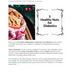 5 healthy nuts for diabetic   Healthy Food Online Store Malaysia