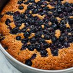 Lower Fat Blueberry Coffee Cake - The Culinary Cellar