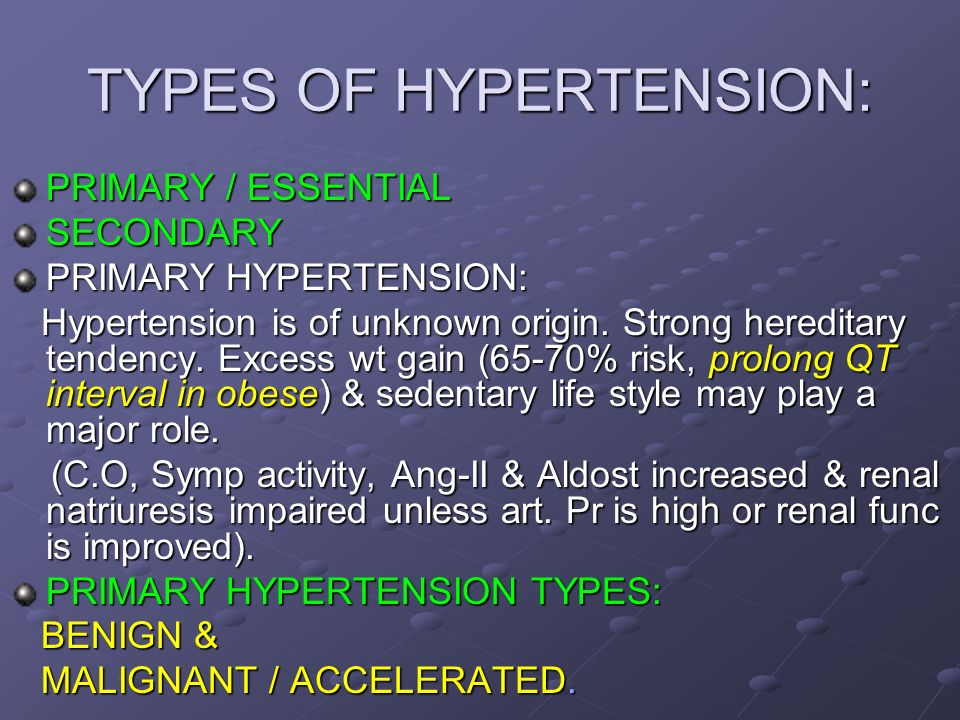 HYPERTENSION: DEFINITION: Persistent increase in systemic arterial blood  pressure. CLINICAL DEFINITION: When systolic B.P rises above 130mmHg and  diastolic. - ppt download
