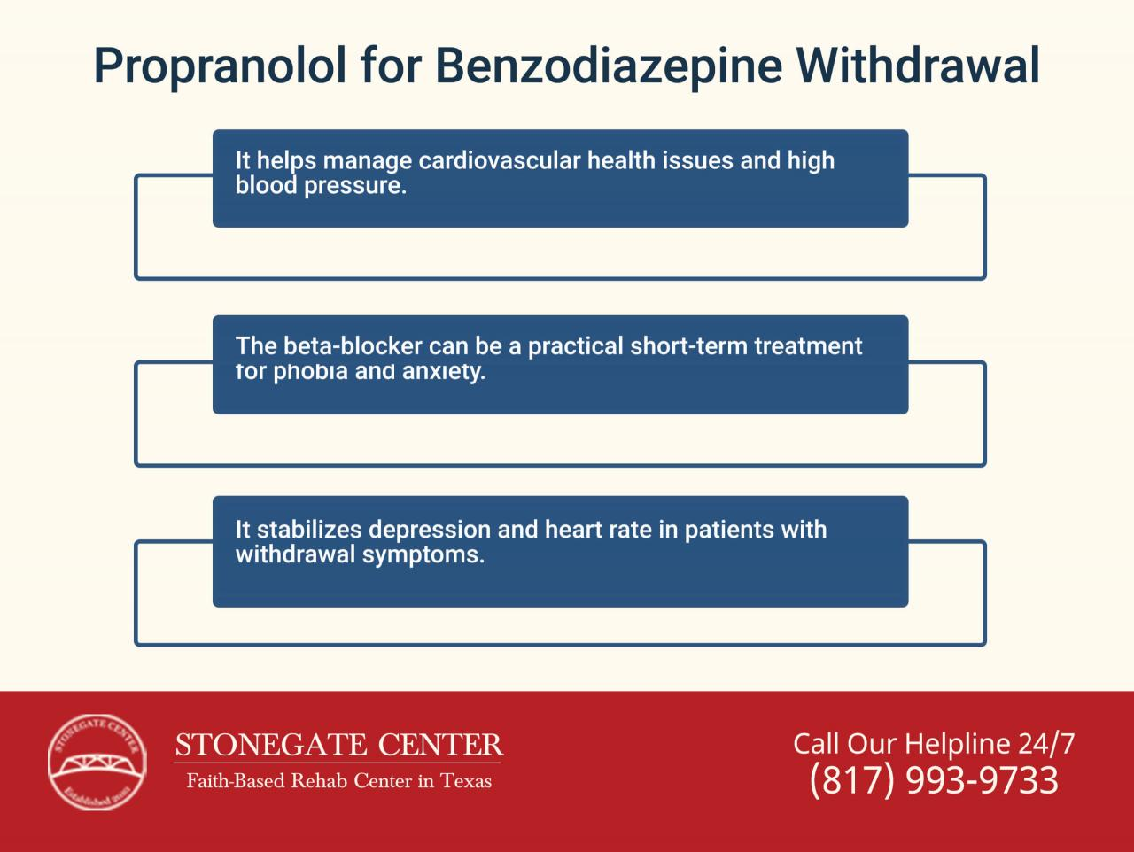 Why Is Propranolol One of the Most Common Medications Given at Detox  Centers? - Stonegate Center