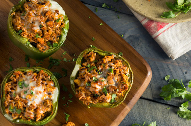 Recipe: Low-Fat Stuffed Peppers – Cleveland Clinic