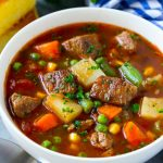 Vegetable Beef Soup - Dinner at the Zoo
