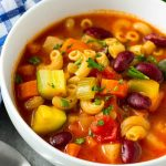Vegetable Minestrone Soup Recipe | Healthy Fitness Meals