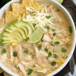 Healthy White Chicken Chili (Stovetop & Crockpot) - Foolproof Living