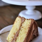 Best Yellow Cake Recipe {From-Scratch} | Mel's Kitchen Cafe