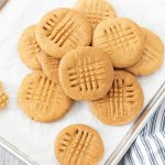 Low FODMAP One-Bowl Peanut Butter Cookies - FODMAP Everyday
