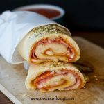 Monster Stromboli - Tastes of Lizzy T's   Recipes, Cooking recipes, Food