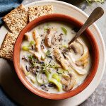 Healthy Creamy Chicken and Wild Rice Soup - Foolproof Living