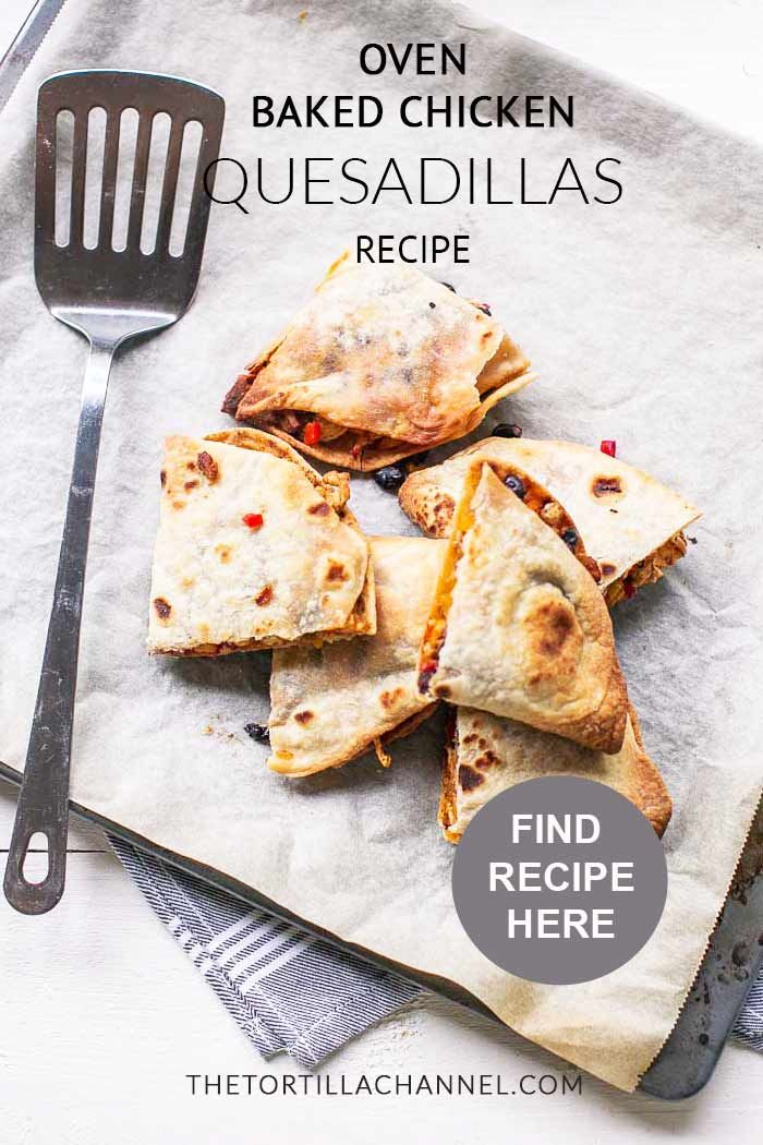 Healthy Chicken Quesadillas - Hungry Hobby