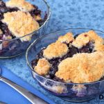 Healthy Blueberry Cobbler - Erin Lives Whole
