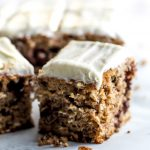 Healthy Carrot Cake {with Light Cream Cheese Frosting} - WellPlated.com
