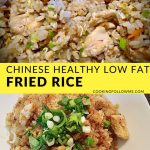 Chinese Healthy Low Fat Fried Rice » CookingFollowMe