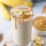 Creamy Peanut Butter Banana Smoothie | Healthy Smoothie Recipe